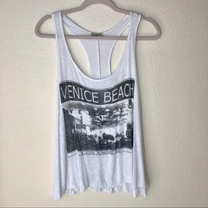 Free Kisses.Venice Beach Los Angeles Tank.
